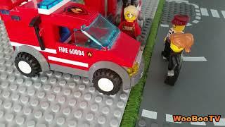 LASTENOHJELMIA SUOMEKSI - Lego city - Metsäpalovaroitus - osa 1