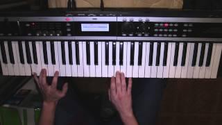 Как играть intro of Fade To Black by Metallica на клавишах (Фортепиано)?