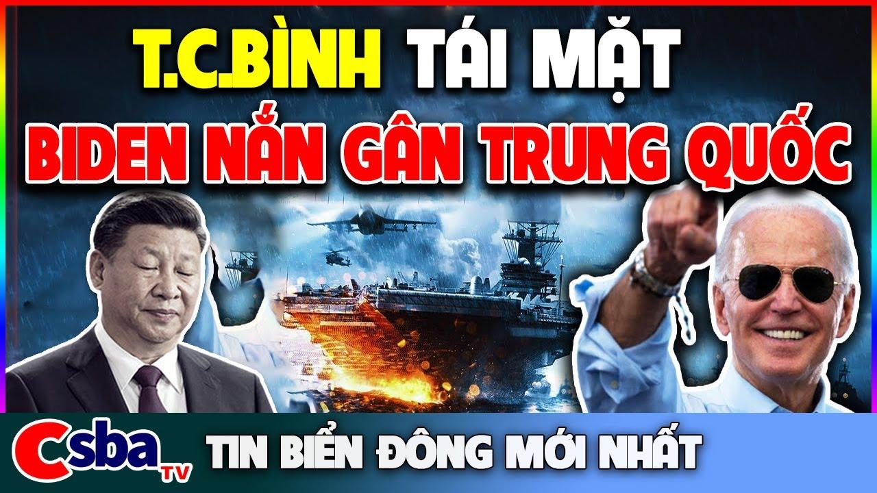 Điều Tàu Đổ Bộ Viễn Chính Khủng Nhất Đến Biển Đông, Biden Cứng Rắn NẮN GÂN Trung Quốc Ngay Lập Tức