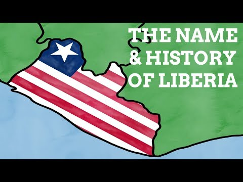 How Does Liberia's Name Reflect Its History?
