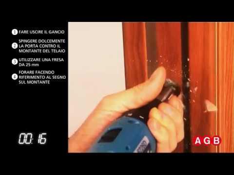 Scivola t serratura per porte scorrevoli youtube for Porte scorrevoli per cucina