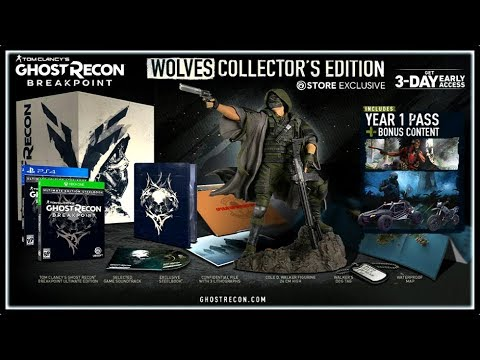Special Editions Pre Order Bonuses Ghost Recon Breakpoint