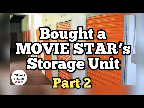 Opening A $270 Rudy Ray Moore Celebrity Dolemite Real Life Storage Wars Unit Auction 3-24-18 Part 4