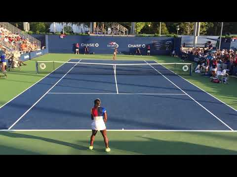08_Sachia Vickery vs Sofia Kenin (US Open 2017 - 2nd Round)
