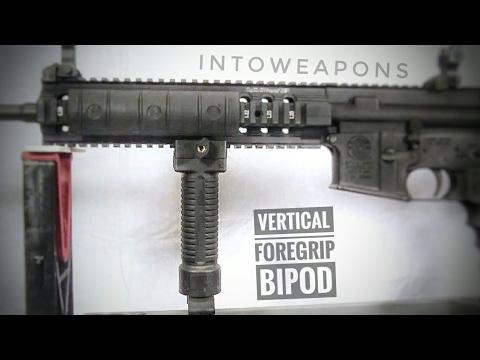 AR-15 Upgrade: Vertical Grip Bipod (Grip Pod)