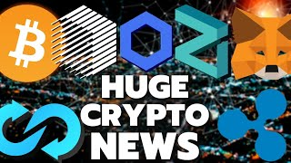 Huge Crypto Updates! Ripple XRP, Zilliqa ZIL, Trustswap, Chainlink, Ren Protocol