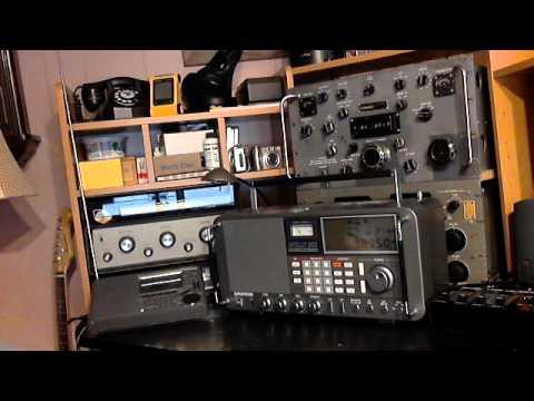 Comparing Radios SW77 vs Satellit 800 vs R390A vs PCR1000