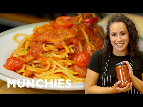 How To Improve Store-Bought Tomato  Sauce