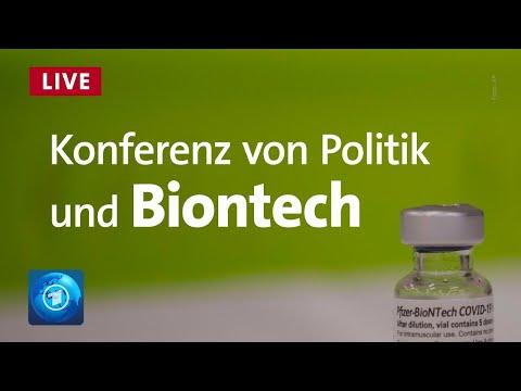 Merkel, Spahn und Biontech zum Corona-Impfstoff