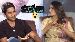 Samantha about Naga Chaitanya | Majili Movie Interview | Shiva Nirvana | Daily Culture