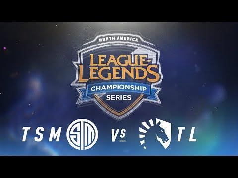TSM vs. TL - Week 8 Day 1   NA LCS Spring Split   TSM vs. Team Liquid (2018)