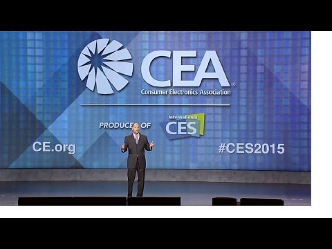 CEA's Gary Shapiro of the Consumer Electronics Association Keynote at CES 2015