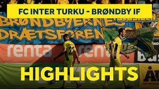 Højdepunkter fra udekampen mod Inter Turku | brondby.com