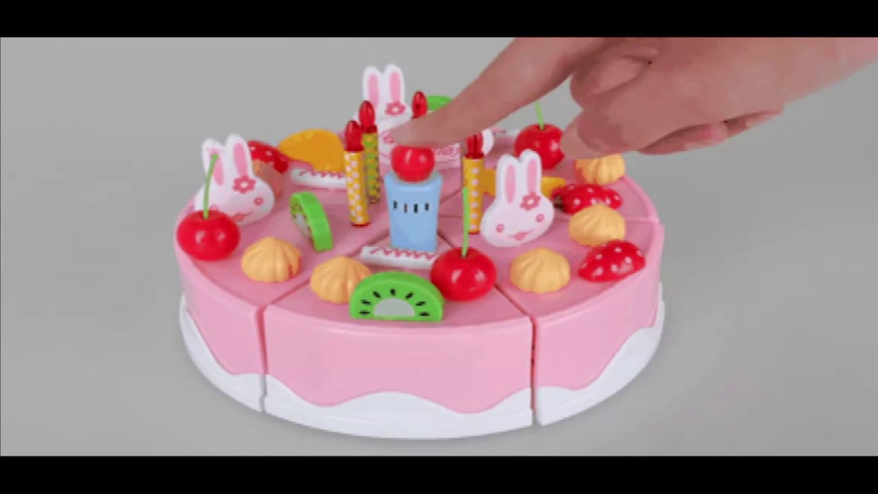 Singing Birthday Cake Toy With Light And Sound Sings Happy To You