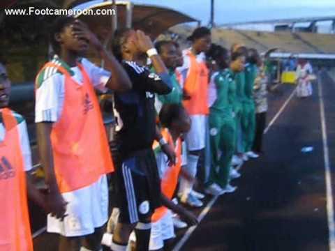 Nigeria women's Olympic team in Yaoundé 1
