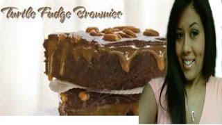 Homemade Brownies | How To Bake Caramel Turtle Brownies