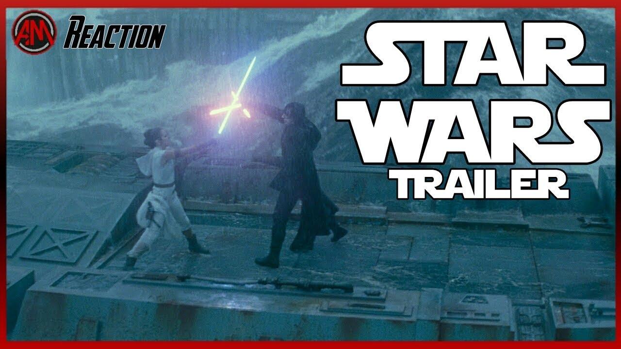 STAR WARS 9: Der Aufstieg Skywalker Trailer 3 Deutsch - Reaction