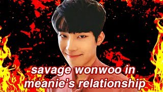 [MEANIE] SAVAGE WONWOO IN MEANIE'S RELATIONSHIP