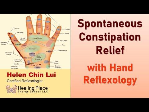 Spontaneous Constipation Relief- Foot Reflexology Tip