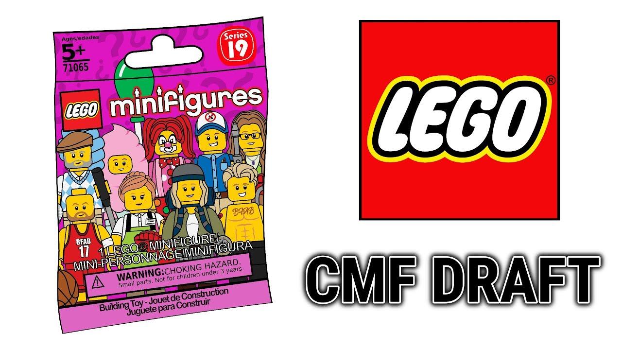 LEGO Minifigures Series 19 - Custom CMF Draft! - YouTube