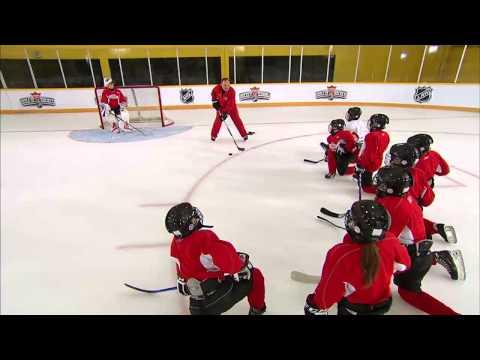 NHL Skills: Scoring Deke From Canadian Tire Hockey School