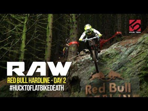 HUCK-TO-FLAT BIKE DEATH || Vital RAW Red Bull Hardline Day 2