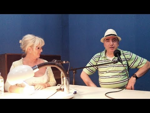 Denise Phillips interviews Chris Krzentz on BRTK Cyprus Radio (2018)