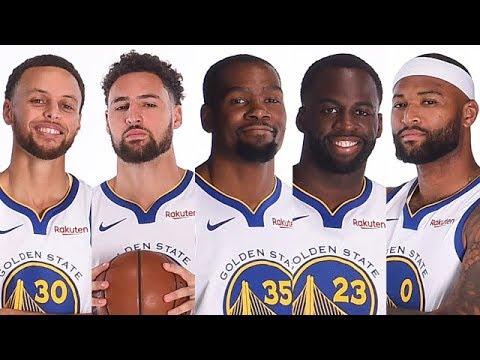 Golden State Warriors 2018/19 Roster (Full) - YouTube