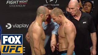 Volkan Oezdemir vs. Misha Cirkunov   Weigh-In   UFC ON FOX
