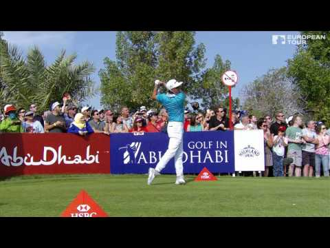 Rickie Fowler – slow motion golf swing – driver