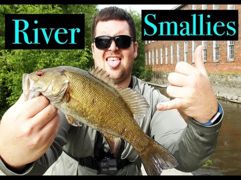 Fishing For River Smallmouths!!