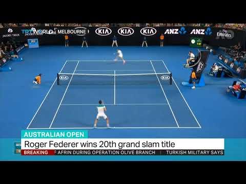 Roger Fereder wins 20th grand slam title