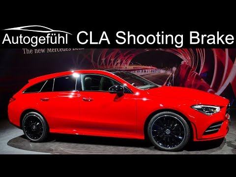 2020 Mercedes CLA Shooting Brake REVIEW - Autogefühl