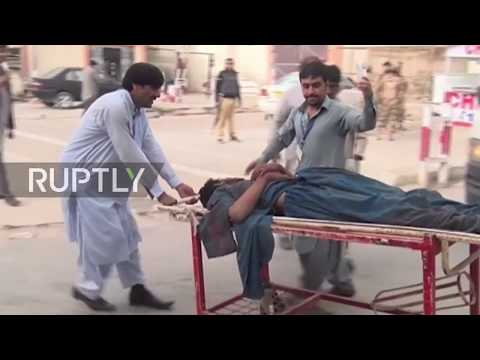 Pakistan: Death toll hits 130 after suicide blast rocks election rally in Mastung
