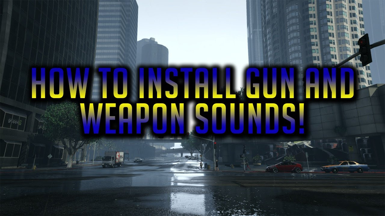 How To Install Gun Sounds And Custom Sirens In FiveM!