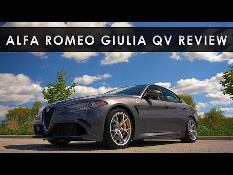 Review 2017 Alfa Romeo Giulia Rapid Rebirth