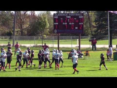 2013 Clarence Bulldogs JV Maroon vs TTFA Buffalos