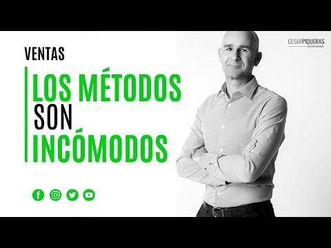 Los Métodos Son Incómodos | Ventas | César Piqueras