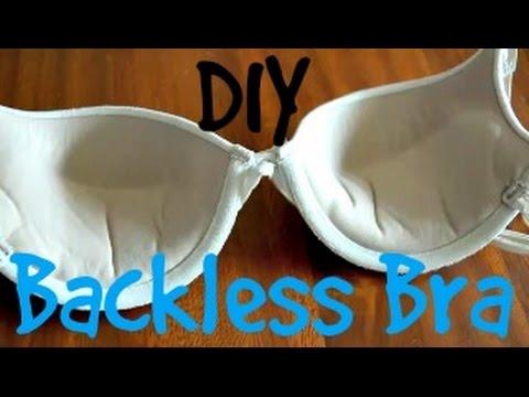 DIY Backless Bra. http://bit.ly/2lZf1a0