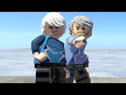 how to make quicksilver in lego marvel superheroes 2