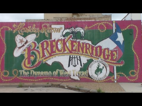 IT'S TRAVELING THURSDAY! Visit Beautiful Breckenridge, Texas with ME :-)