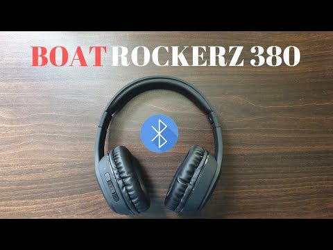 Boat Rockerz 380 Unboxing: Wireless Bluetooth Headphone🔥🔥