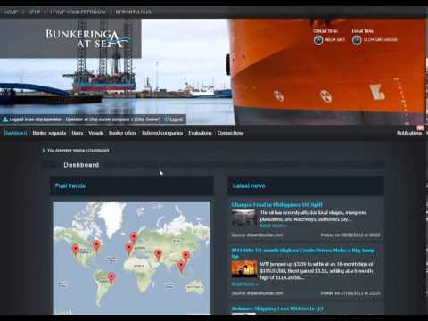 Video Demo Ship Owner Bunkering@Sea