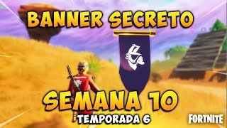 SECRET BANNER chargement Screen Week 10 saison 6 Fortnite