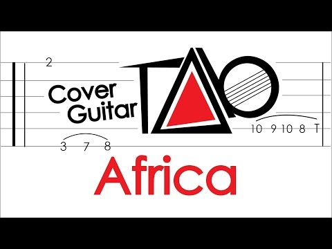 Toto - Africa - Guitar Backing Track + Chords + Lyrics
