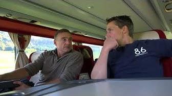 Im Bus mit dem HC La Chaux-de-Fonds