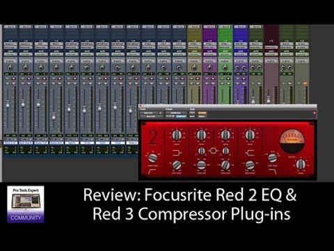 Review: Focusrite Red 2 EQ & Red 3 Compressor plug-ins