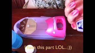 Portable Nail Art Printing Machine Tutorial by Dyscem Mueldener