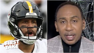 I'm disappointed in my Steelers - Stephen A. isn't satisfied with a win vs. the Cowboys | First Take