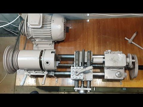 Устройство токарного станка / The Device Lathe / Как сделать токарный станок.